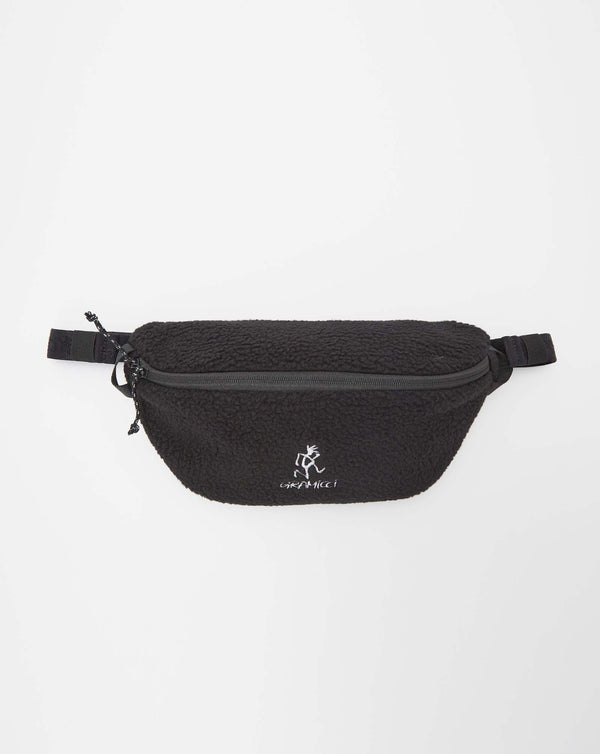 Gramicci Boa Fleece Body Bag (Black)