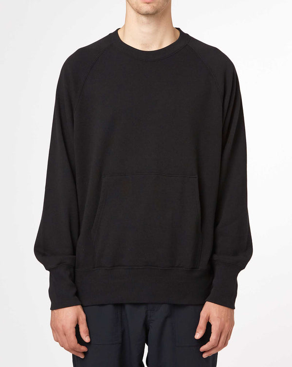 Nanamica Crew Neck Sweat (Black)