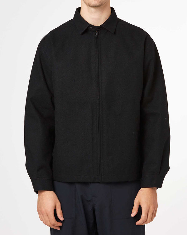 Nanamica Wool Gore-Tex Jacket (Black)
