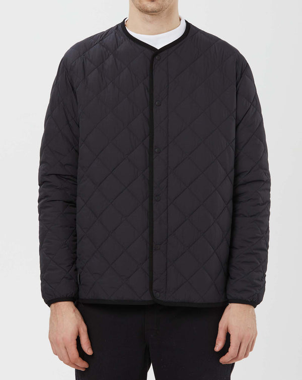 Snow Peak Recycled NY Ripstop Down Cardigan (Black)