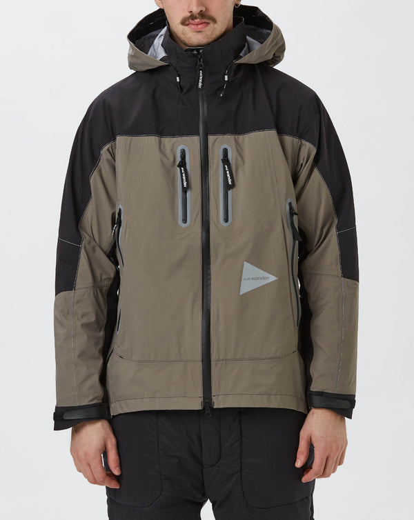and Wander eVent Rain Jacket (Grey)