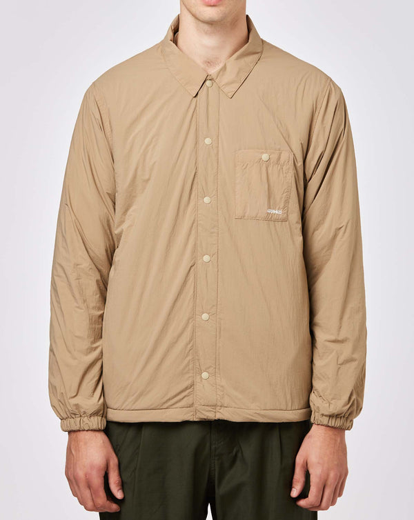 Gramicci Nylon Fleece Coach Shirt (Chino)