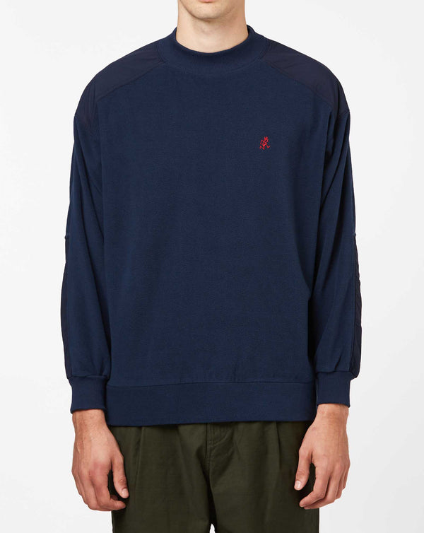 Gramicci Mock Neck Fleece (Navy)