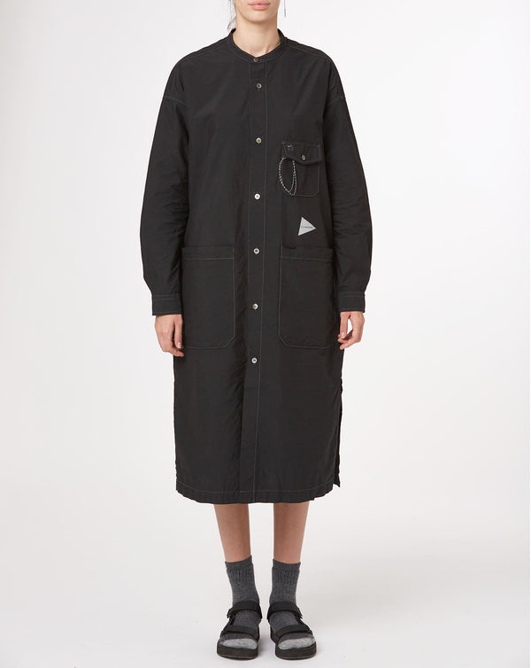 and wander Cordura Typewriter Long Shirt (Black)