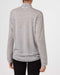 and wander Merino Base High Neck T (Grey)