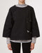 and wander Cordura Typewriter Pullover (Black)