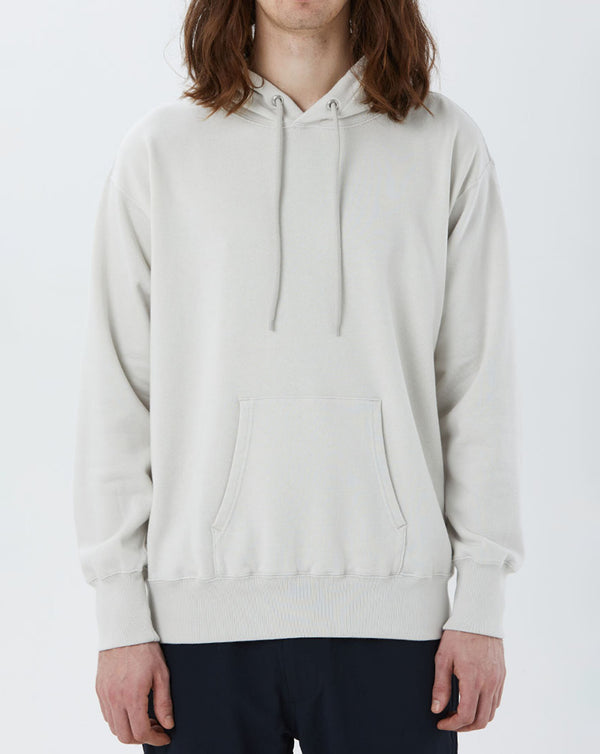 Nanamica Hooded Pullover Sweat (Light Grey)