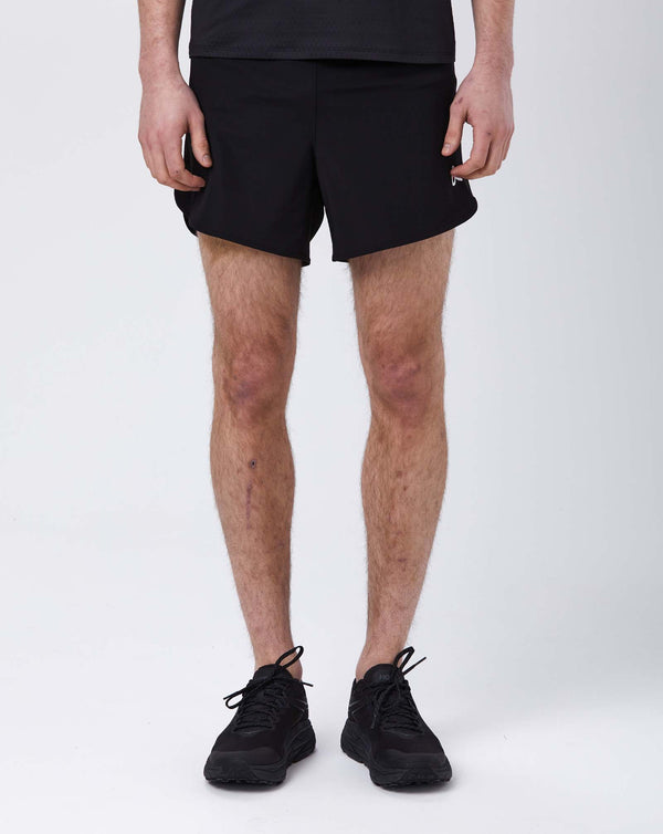 "District Vision Spino 5"" Training Shorts (Black)"