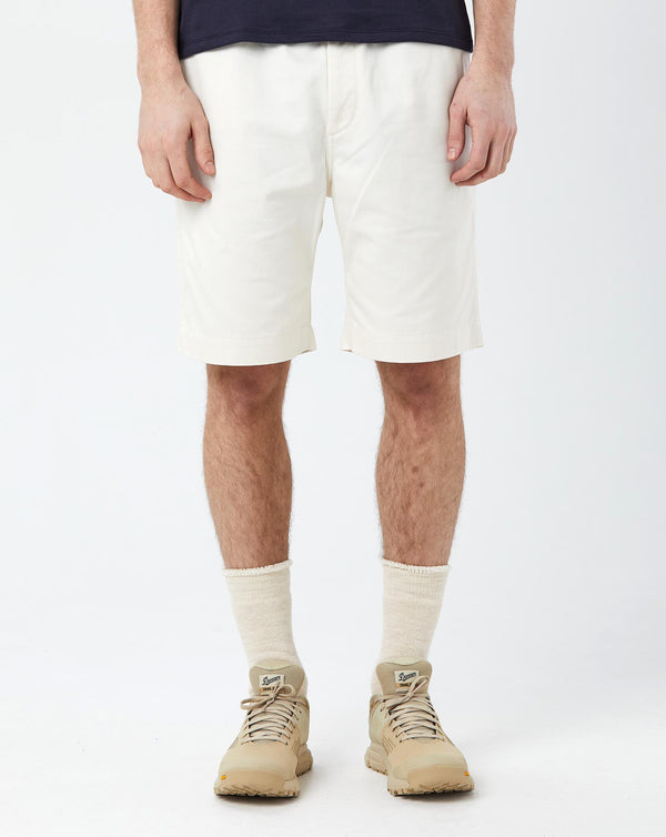 Nanamica Easy Chino Shorts (Ecru)