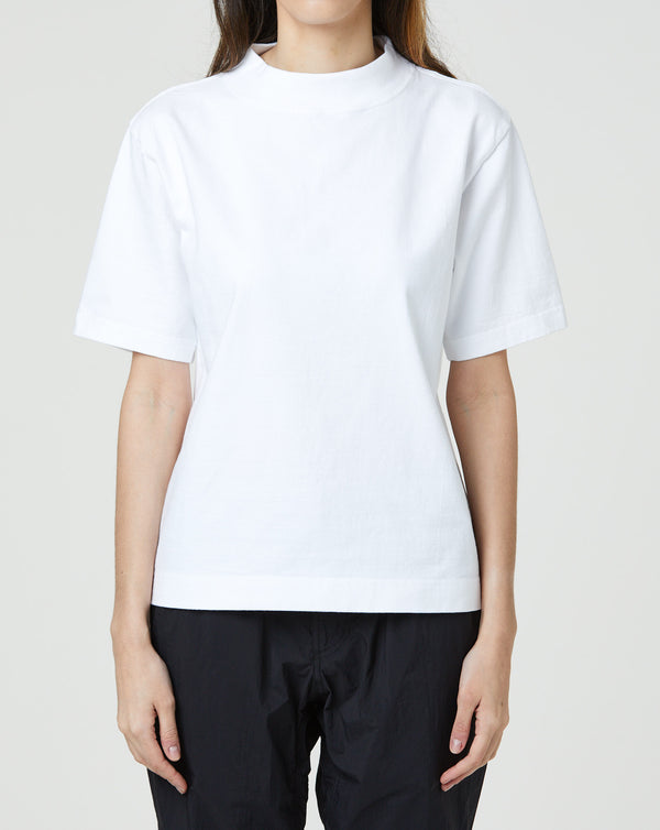 Snow Peak Heavy Cotton Mockneck T-shirt (White)