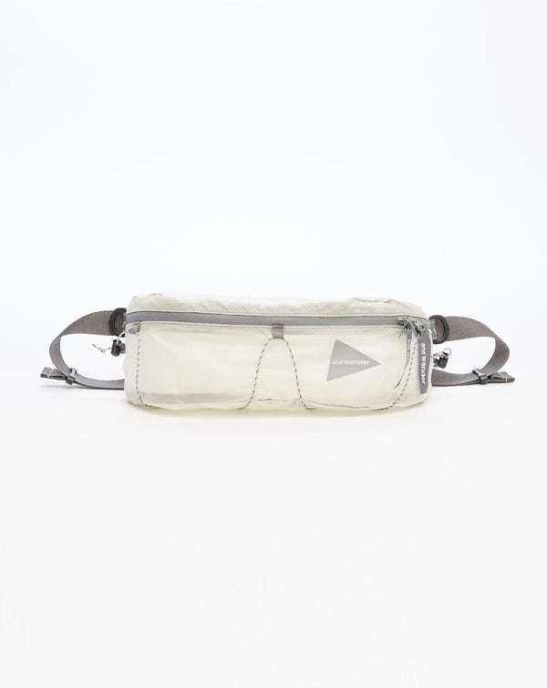 and Wander Sil Waist Bag (Off White)
