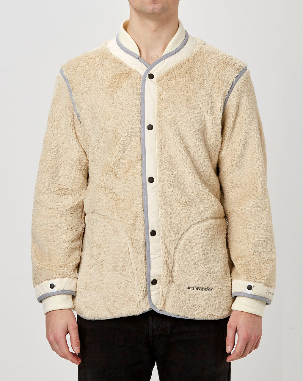 and Wander Fleece Liner Jacket (Off White)