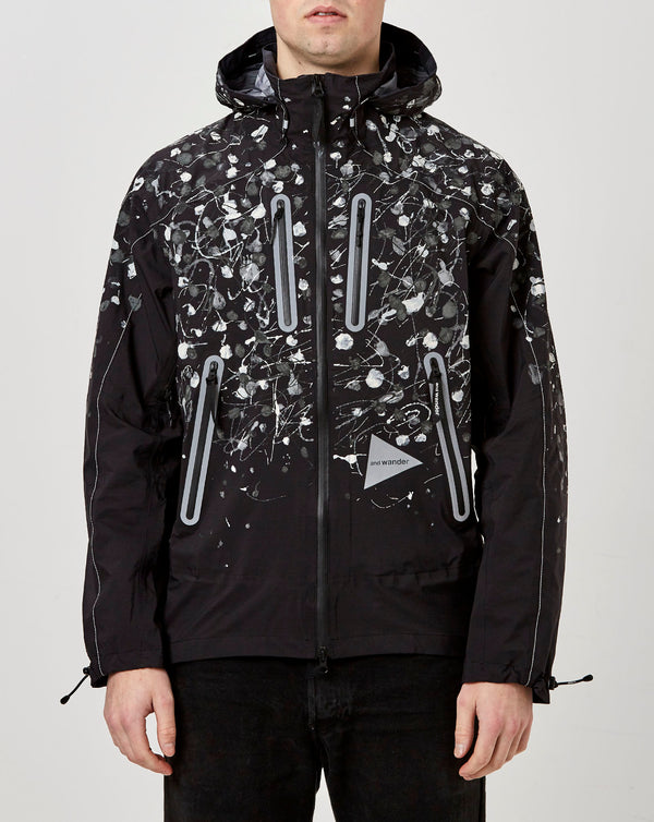 and Wander Splatter Hand Paint eVent Jacket (Black Splatter)