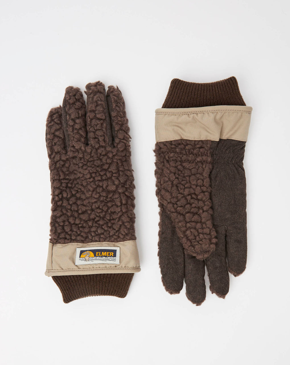 Elmer EM350 Wool Pile Fleece Glove (Brown)