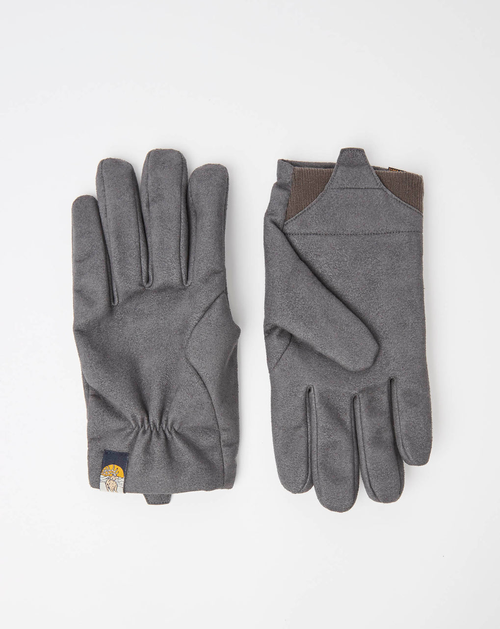 Elmer EM570 Artificial Suede Glove (Charcoal)