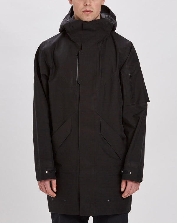 Goldwin GoreTex Hooded Coat (Black)