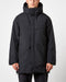 Goldwin Hooded Spur Down Coat (Black)
