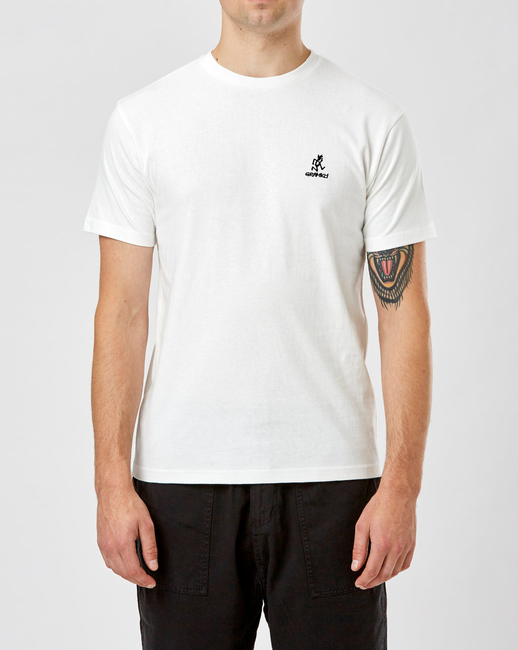 Gramicci Big Runningman Tee (White)