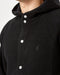 Gramicci Boa Fleece Hooded Coaches Jacket (Black)