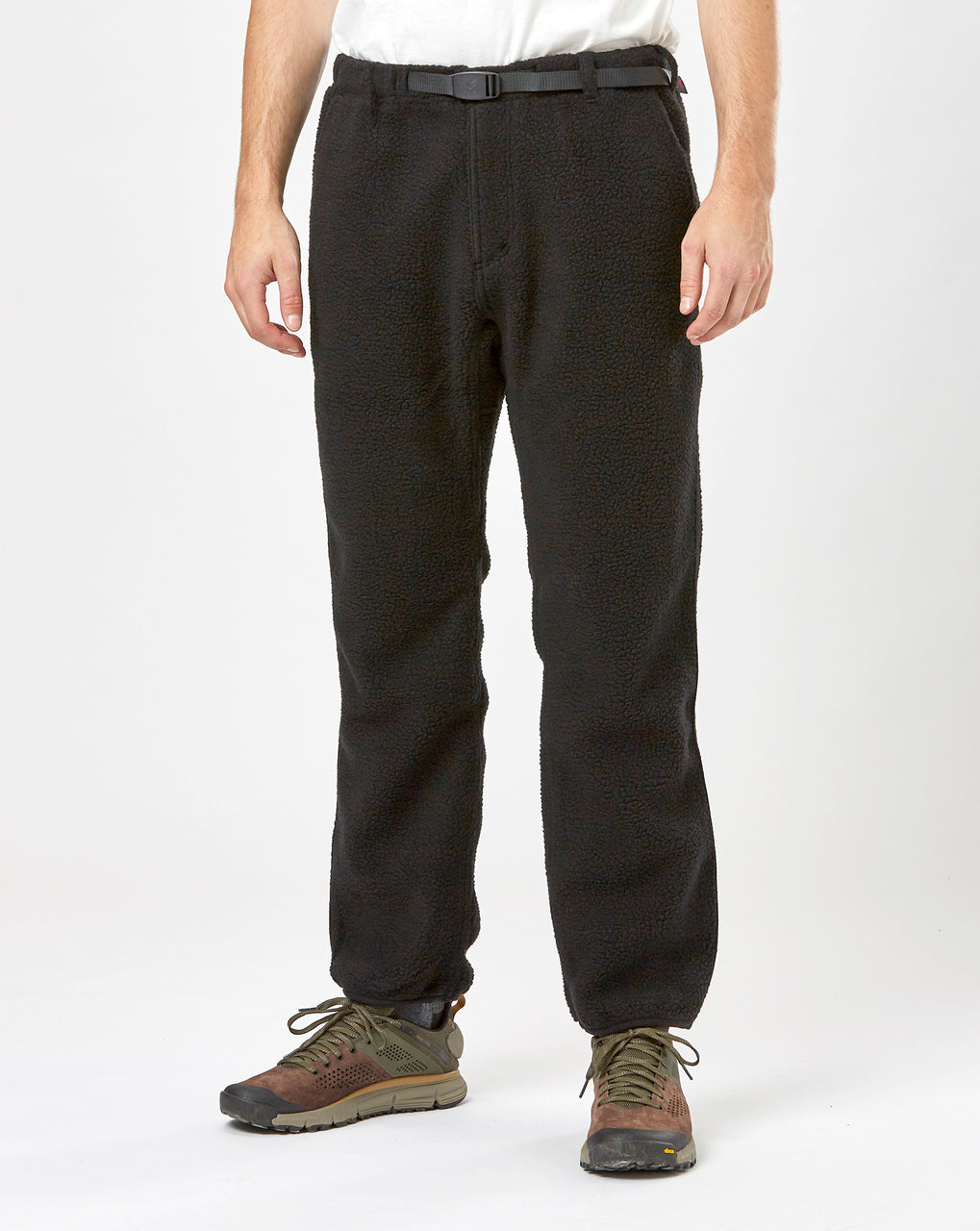 Gramicci Boa Fleece Pants (Black)