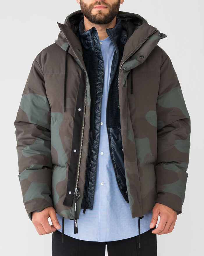 Holden M Fowler Down Parka (Forest Camo)