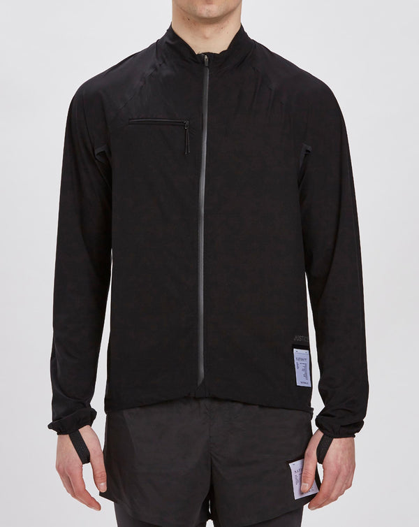 Satisfy Justice Running Jacket (Black)
