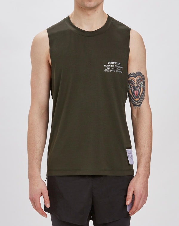 Satisfy Light Muscle T-shirt (Army)