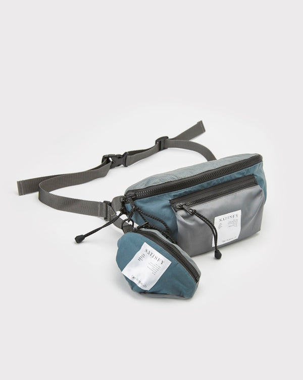 Satisfy Belt Bag (Steel Patchwork)