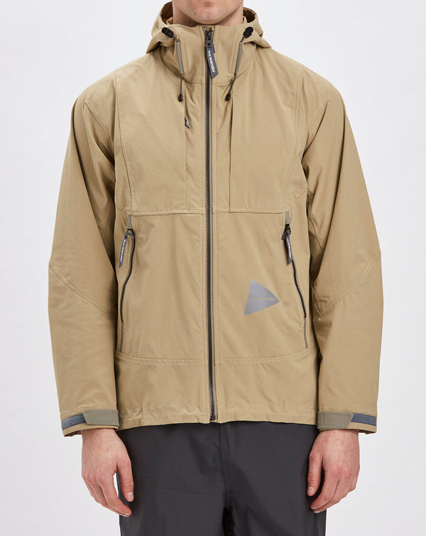 And Wander Nylon Stretch Jacket (Beige)