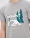 and Wander Long Night T-shirt (Light Grey)