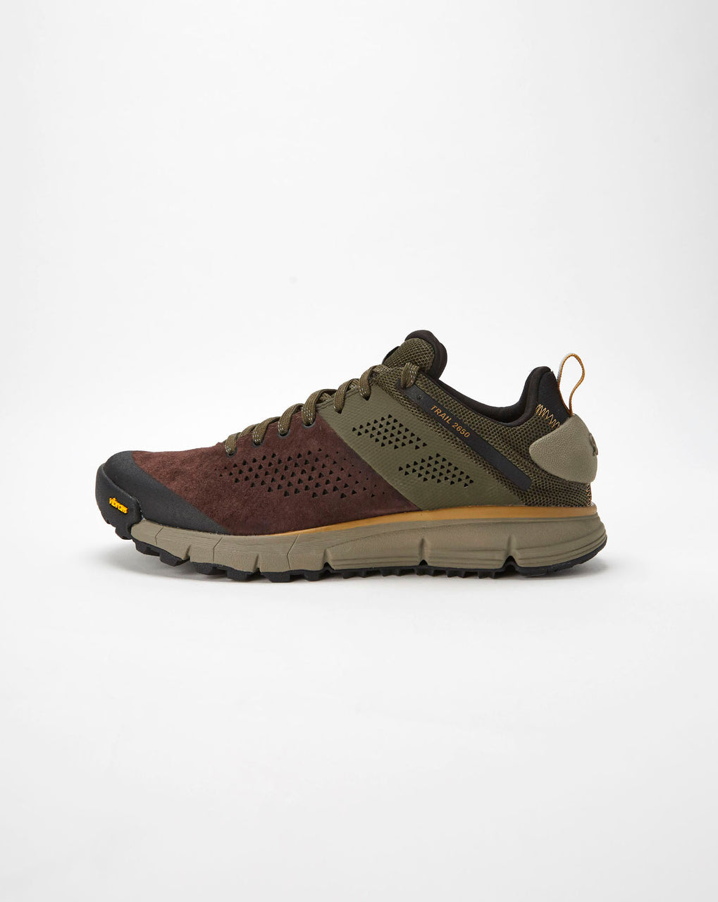 Danner Trail 2650 Trainer (Dark Brown/ Green)