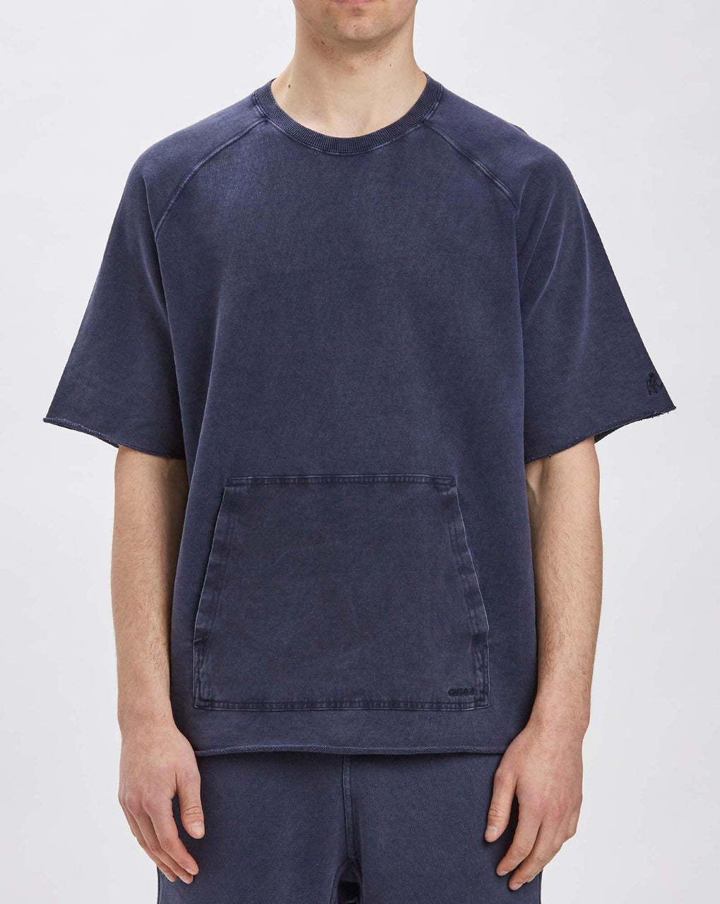 Gramicci S/S Talecut Sweat (Double Navy)