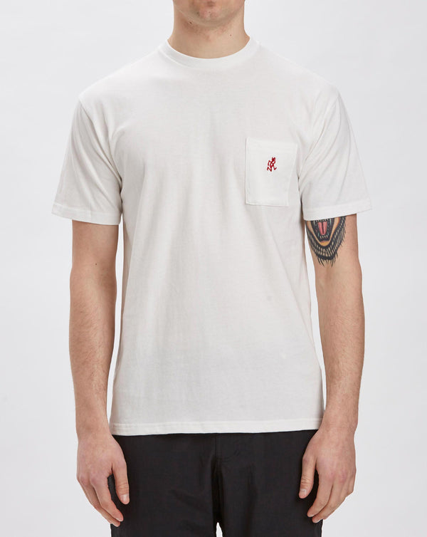 Gramicci One Point T-shirt (White)