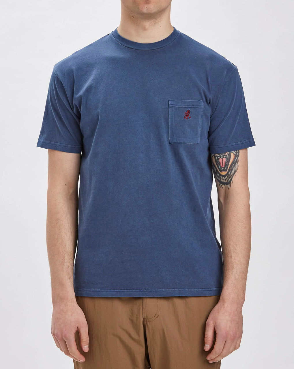 Gramicci One Point T-shirt (Navy)