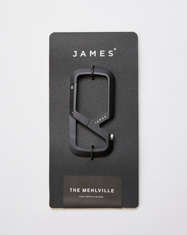 The James Brand The Mehlville Key Fob (Black)