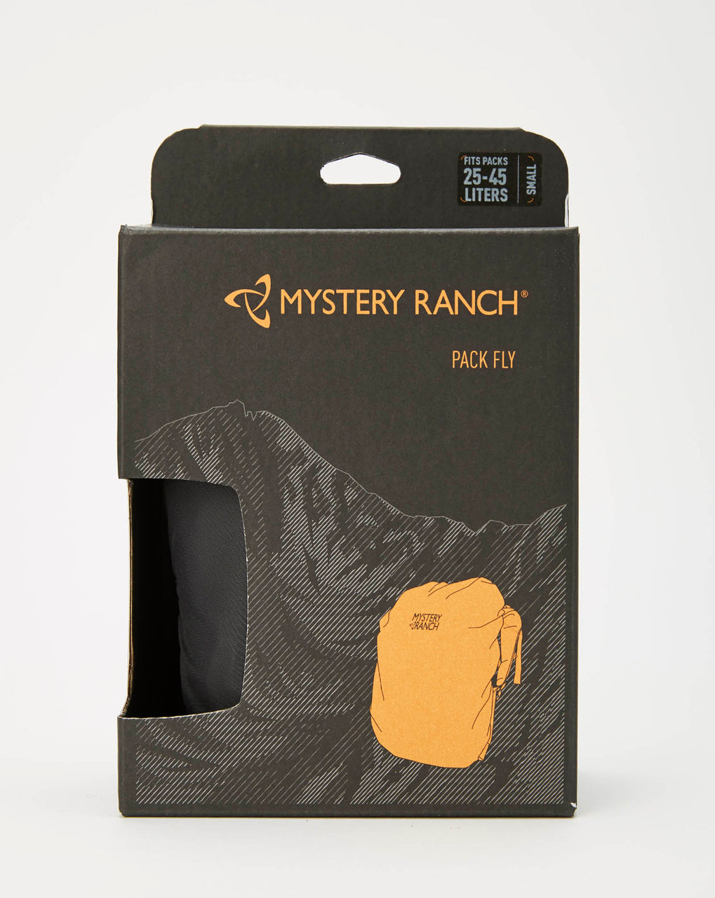 Mystery Ranch Pack Fly Small Backpack Rain Cover (Shadow)