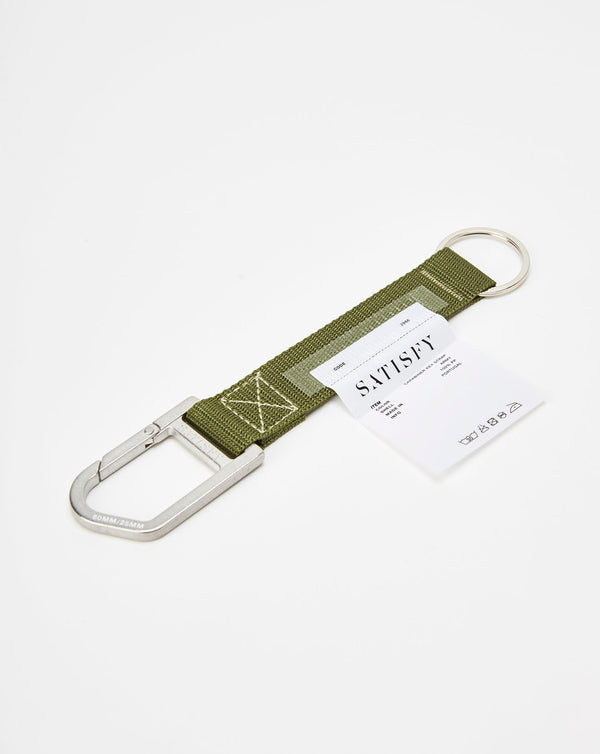 Satisfy Carabiner Key Strap (Army)