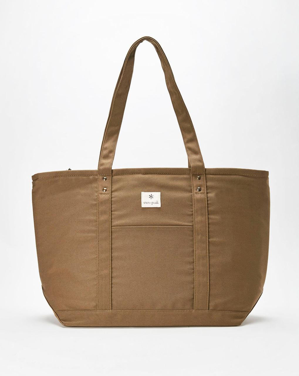 Snow Peak Cooler Tote Bag (Khaki)