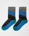 Wigwam Mount Kathadin Socks (Black/Blue)