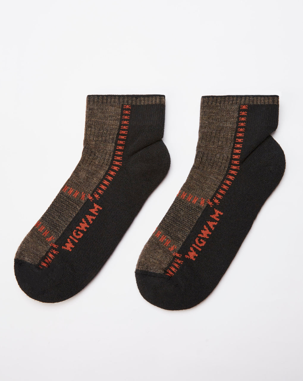 Wigwam Trail Trax Pro Socks (Taupe/Brown Heather)