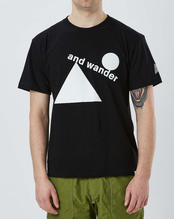 and Wander Artwork T by Fumikazu Ohara (Black)