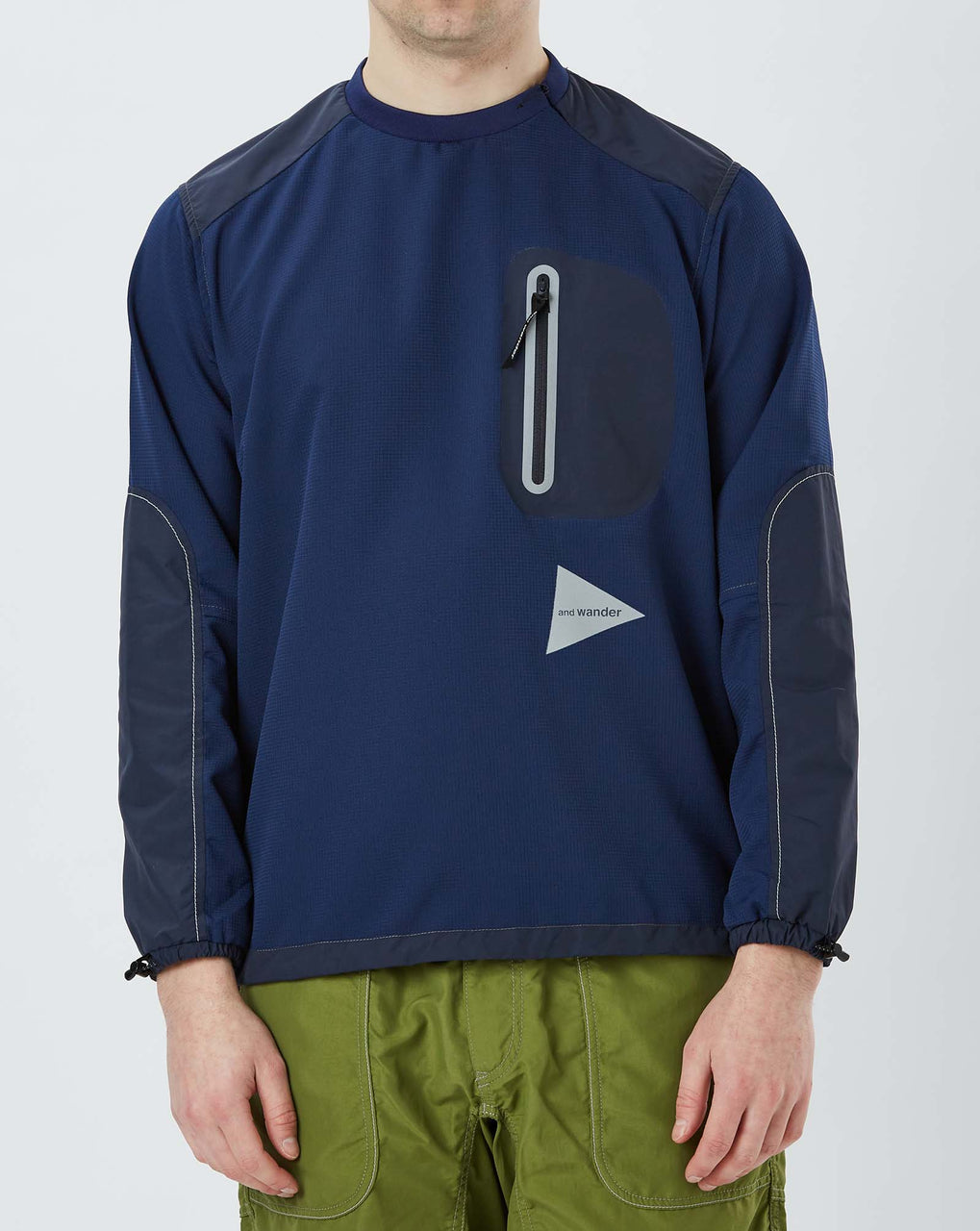 and Wander Vent Pullover (Blue)