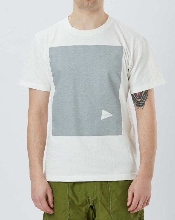 and Wander Printed T Reflective (White)