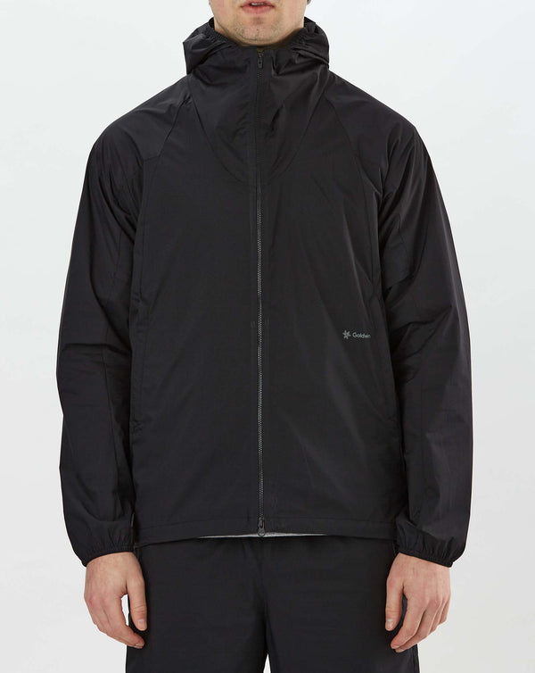 Goldwin Woven Stretch Hoodie (Black)