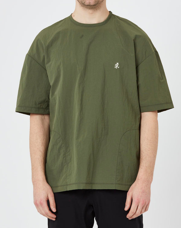 Gramicci Shell Camp T-shirt (Olive)