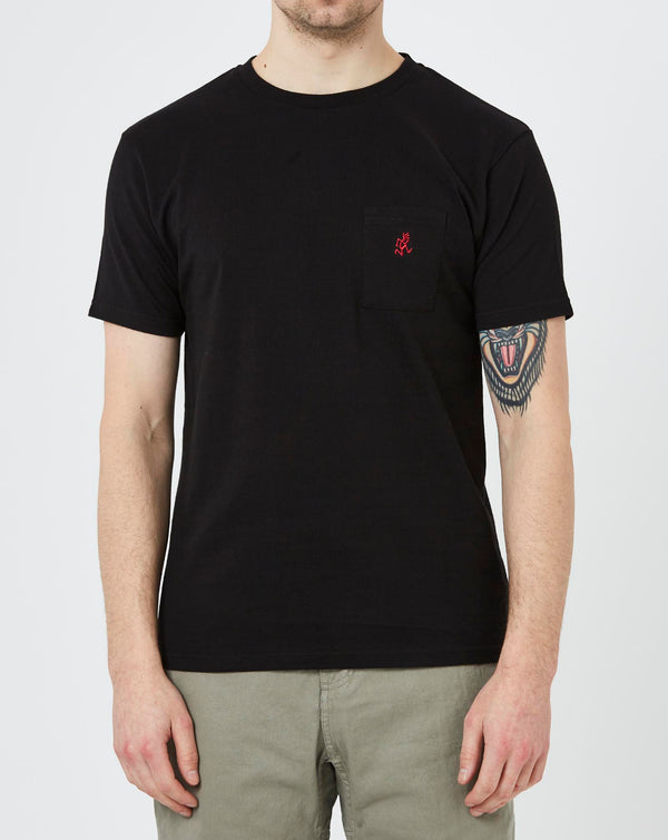 Gramicci One Point T-shirt (Black)