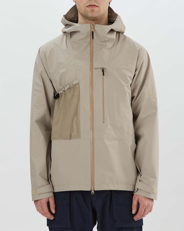 Goldwin Gore-Tex Utility Mountain Jacket (Sand Beige)
