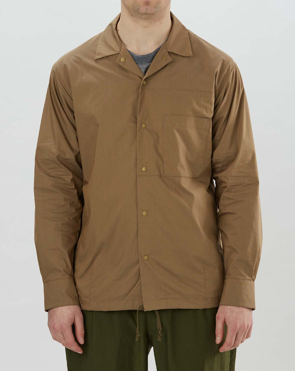 Goldwin Coach Jacket Shirt (Coyote)