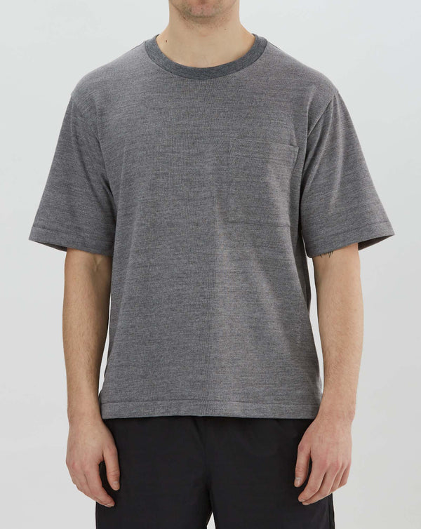 Goldwin S/S Crew Neck Tee (Heather Grey)