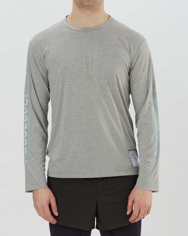 Satisfy Light Long T-shirt (Heather Grey)